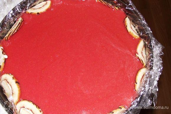 Потрясающий ароматный и нежный торт- суфле готов!