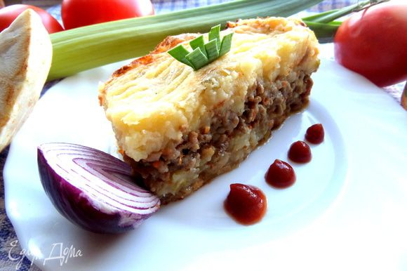 Рекомендую и Вам приготовить такую простую запеканочку с полезными овощами)))
