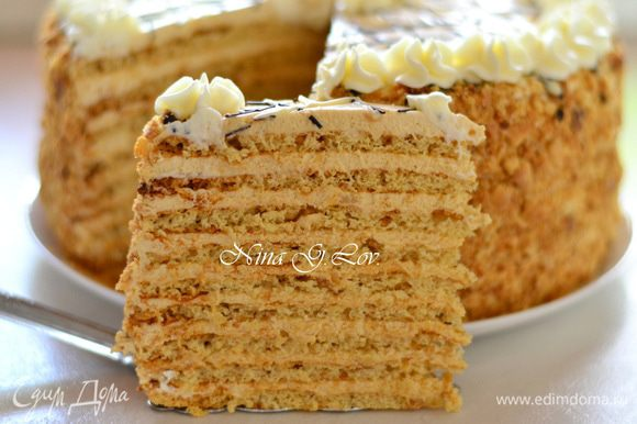 Бесподобный торт!