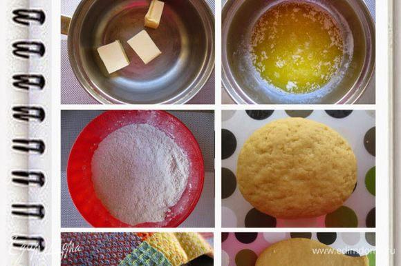 Муку просеять с оставшимся сахаром, солью, ванилином. Если кому-то покажется мало сахара, то его количество можно увеличить. Я не стала использовать много сахара, так как инжировое варенье само по себе очень сладкое.