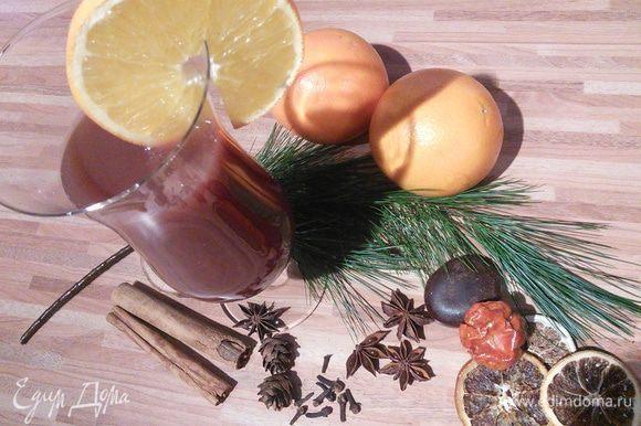 Разольём по бокалами, предназначенным для горячих напитков и угощаем своих родных и любимых.