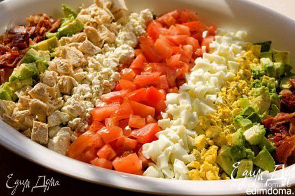 Любителям подобных салатов хочу порекомендовать вот такой Кобб-салат у Стеллы! http://www.edimdoma.ru/retsepty/55382-kobb-salat