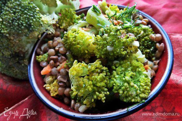 Попробуйте также салат с брокколи и нутом (у меня чечевица) от Яночки и Вы не разочаруетесь: http://www.edimdoma.ru/retsepty/70800-salat-iz-brokkoli-i-nuta
