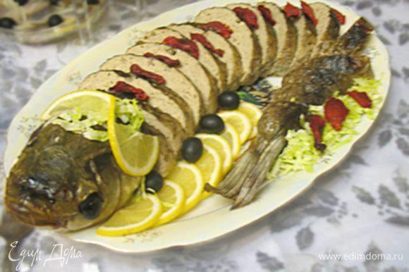 Рыба получается нежной, сочной, ароматной. В общем, очень очень вкусной. Приятного аппетита!