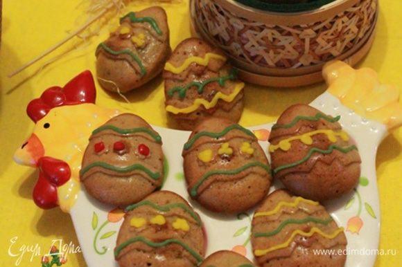 Этими кексами можно угостить соседских детишек, они будут очень рады.