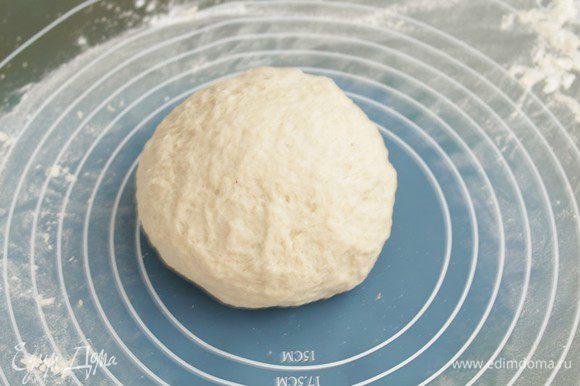 Замесить тесто и ставить на 25 минут.