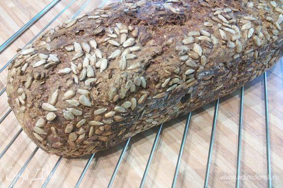 Охладить хлеб на решётке.
