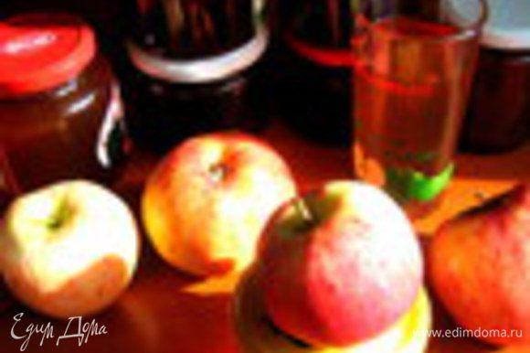 Рецепт сиропа можно глянуть здесь: http://www.edimdoma.ru/retsepty/57763-yablochnyy-sirop-na-zimu