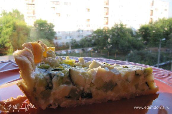 Такой тарт очень вкусен в полностью охлажденном виде! Приятного аппетита!