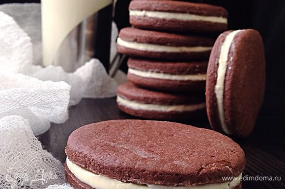 Готовое печенье подавать к столу! Приятного аппетита! :)