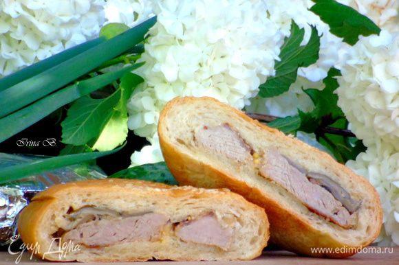 Утром достаем и не разматывая берем на пикник... Пока мы доедем, бутерброд будет уже комнатной температуры....
