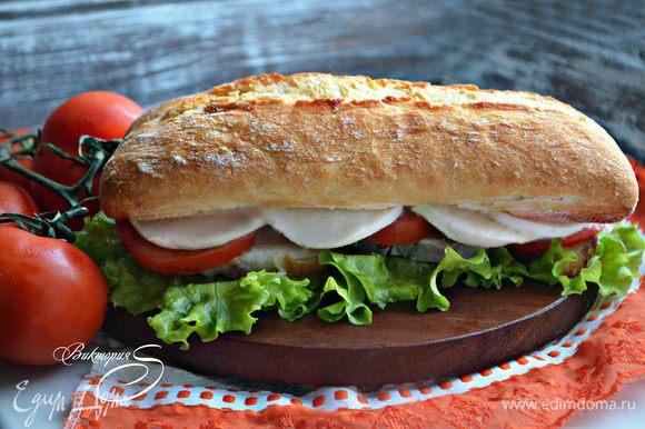 К поркетте можно подать ваши любимые соусы, а также свежие или запеченные овощи. Ну и, конечно же, с использованием поркетты приготовить панини (панино) — излюбленный итальянский сэндвич. Buon appetito!
