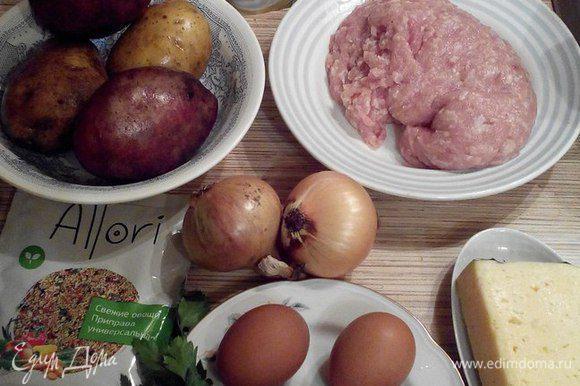 На фото представлены все ингредиенты, используемые в рецепте.