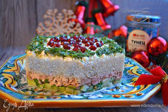 Приятного вам аппетита и вкусных праздников!