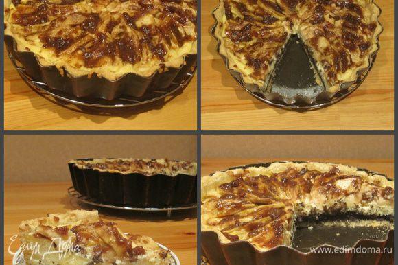 Советую полностью охладить этот тарт до подачи к столу. Приятного аппетита!