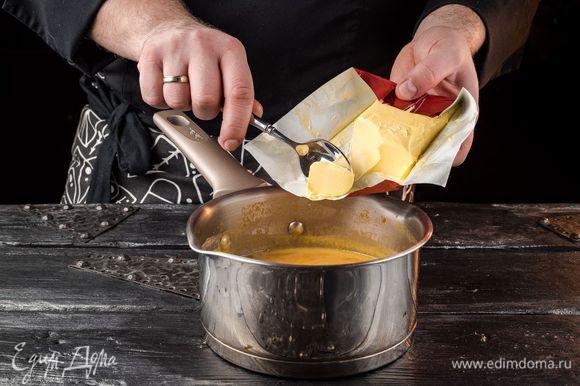 Добавляем сливочное масло «Домик в деревне».