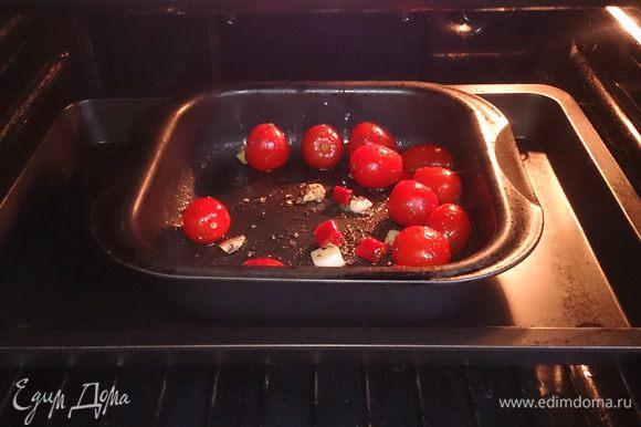 Ставим в разогретую духовку до 160°С на 15 минут.