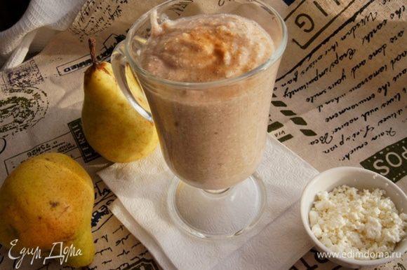 Подойдет и на завтрак, и на перекус. Всем рекомендую этот густой и питательный смузи!