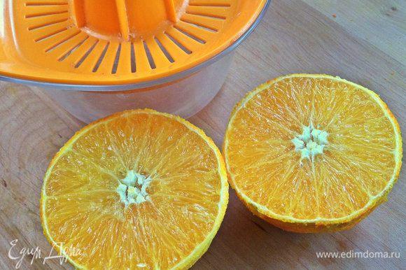 Из остального выжать сок. В программе не нашла апельсинового сока.