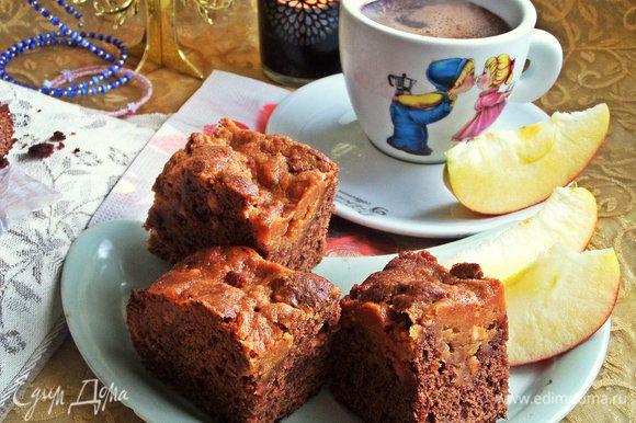 Получились настоящие пироженки — нежные и вкусные.