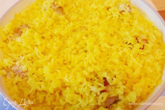 Рис почти готов.