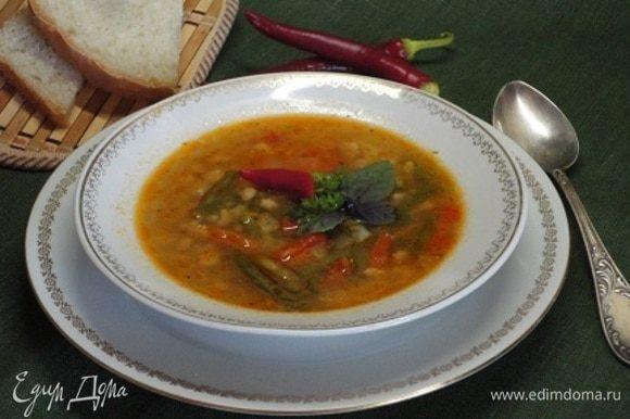Хорошо подавать со свежей петрушкой, базиликом или любой любимой вами зеленью. Приятного аппетита!