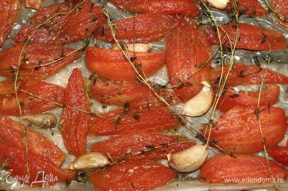 Утром у вас вот такие притомившиеся томаты.