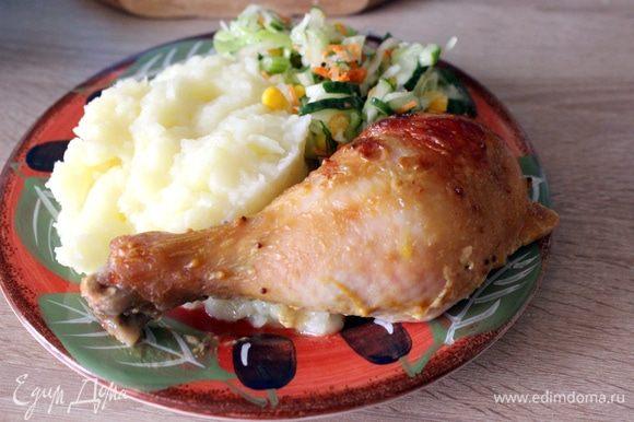 Подать с картофельным пюре или другим гарниром на ваш вкус. Приятного аппетита!