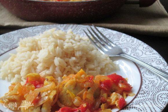 Подаем с рисом. Приятного аппетита!