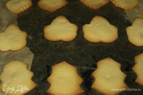 Выпекаем в заранее разогретой духовке до 180ºС 10-12 минут. За печеньем надо следить, чтоб не подгорело.