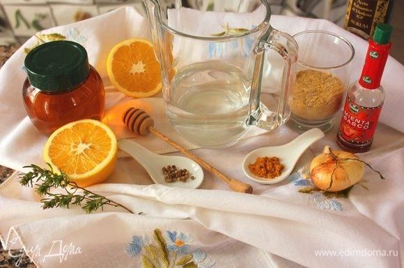 Собираем ингредиенты. К ним добавляем соль, оливковое масло, крахмал (я использовала кукурузный).