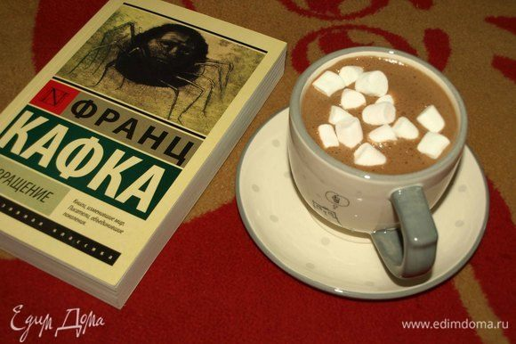 Берем плед, интересную книгу, шоколад и наслаждаемся!