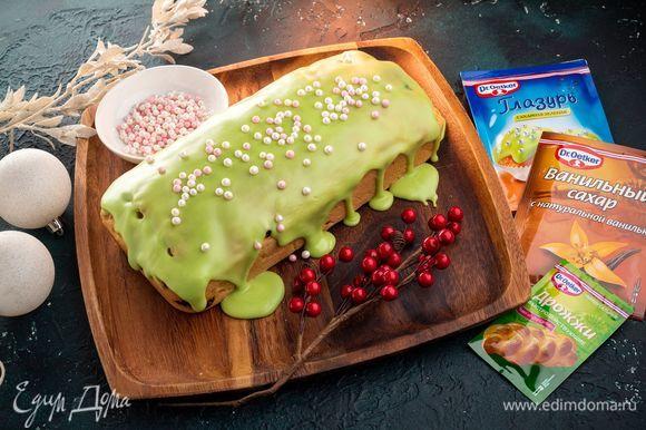 Традиционная рождественская выпечка готова!