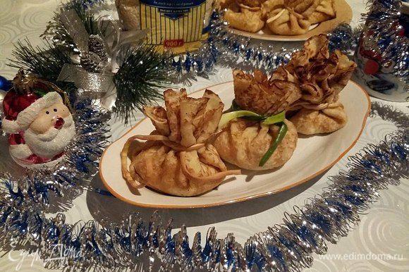Новогоднего всем настроения и приятного аппетита!