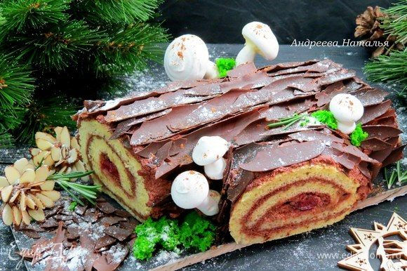 Это очень вкусно и по праздничному красиво! С Рождеством и новогодними праздниками!