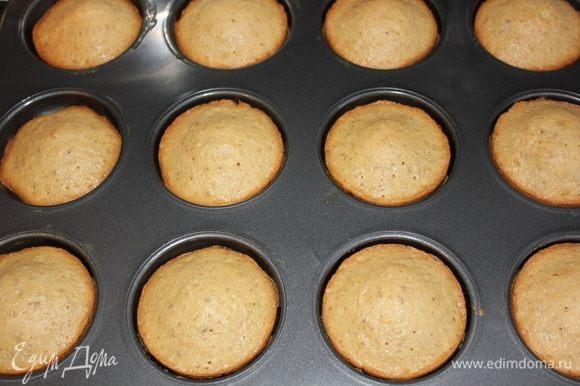 По истечении времени достать печенье из духовки, дать остыть.