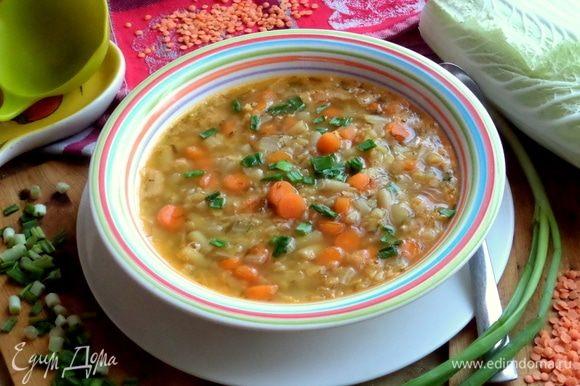 Такой суп реально сварить за полчаса.