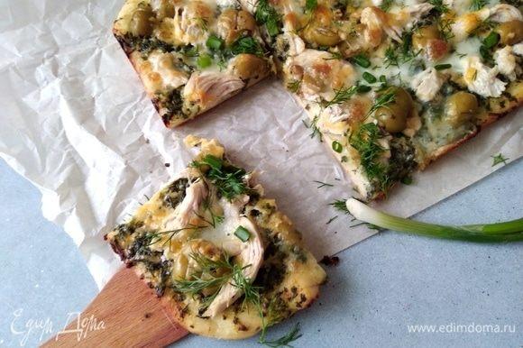 Записала эту пиццу в свои любимчики, такая сочная и вкусная она получилась!
