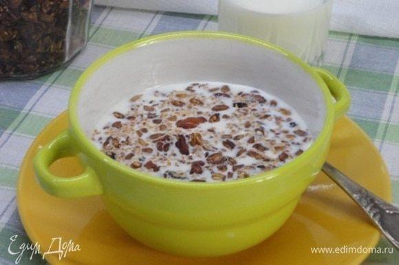 Быстрый и полезный завтрак готов!