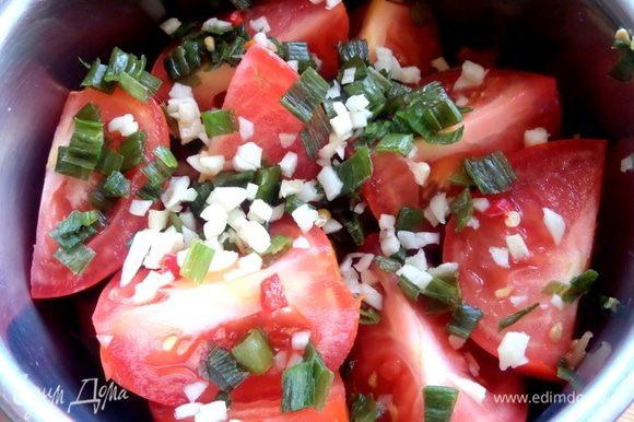 И снова помидоры.