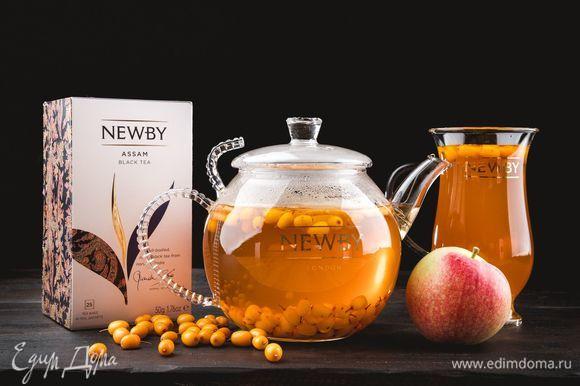 Полезный и вкусный чай согреет осенним вечером.