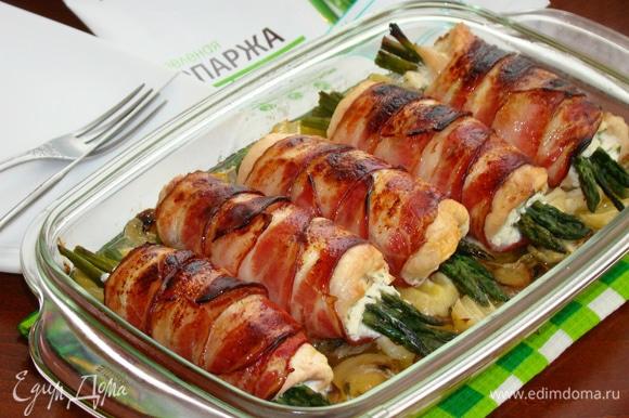 Отличное вкусное мясное блюдо готово!