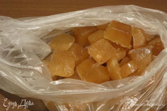 Кладем кубики в пакет, затем — в морозильник. Используем по мере необходимости.