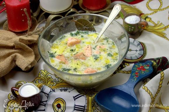 Такой вкусный суп и гостям подать не стыдно.