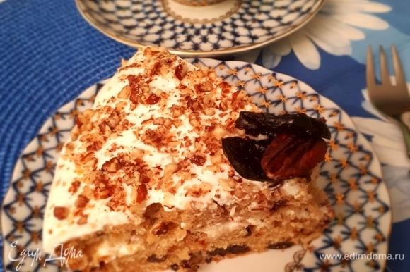 Готово! Подавать коврижку-торт к чаю и наслаждаться) Приятного аппетита!