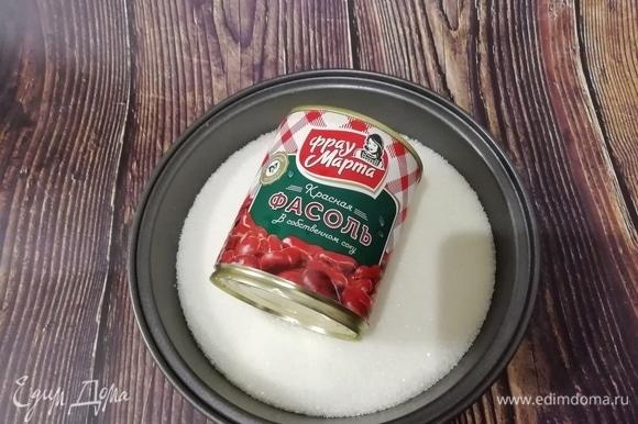 Теперь приготовим вкусную начинку из фасоли — «анко».
