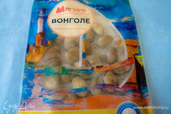 Варено-мороженые ракушки вонголе ТМ «Магуро».