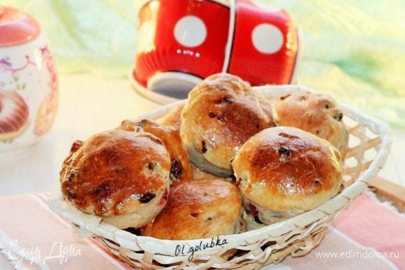 Румяные булочки готовы! Приятного чаепития!
