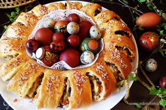 Приятного аппетита! С праздником Светлой Пасхи! Христос Воскресе!
