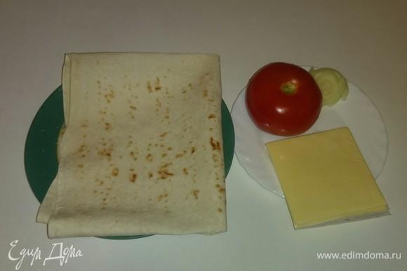 Вот все необходимые ингредиенты для приготовления бутербродов.